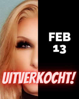 DRag Dinnershow Rotterdam 13 februari 2021