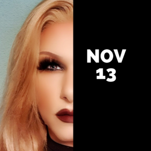 Dragqueen Dinnershow Rotterdam 13 November 2021