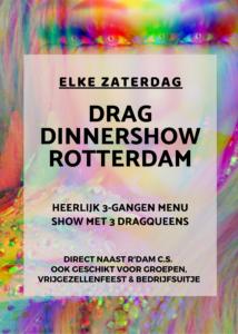 Dragqueen Dinnershow Rotterdam