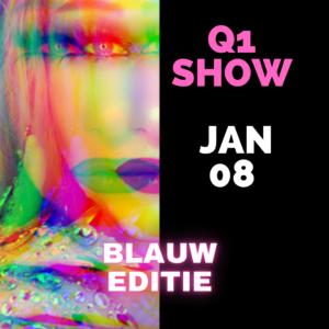 Dragqueen Dinnershow Rotterdam Blauw Editie 8 Januari 2022