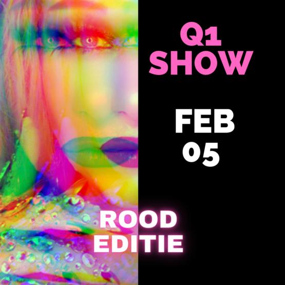Dragqueen Dinnershow Rotterdam Rood Editie 5 Februari 2022